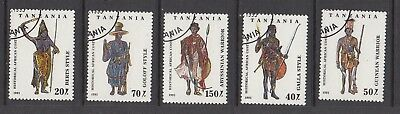TANZANIA HISTORICAL AFRICAN COSTUME  STAMPS USED  .Rfno A320.