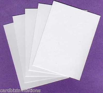 ATC Artist Trading Card Blanks x 100 89mm x 64mm 240 GSM 2.5 x 3.5inch WHITE New