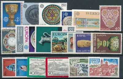 [119228] Europa good lot very fine MNH stamps