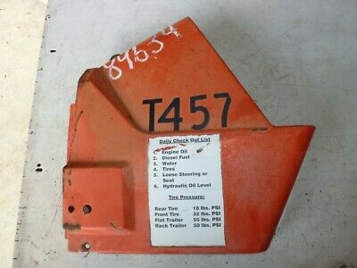 LH Left Rear Side Panel Cowl 32400-18820 Kubota L2050 L2350 Tractor