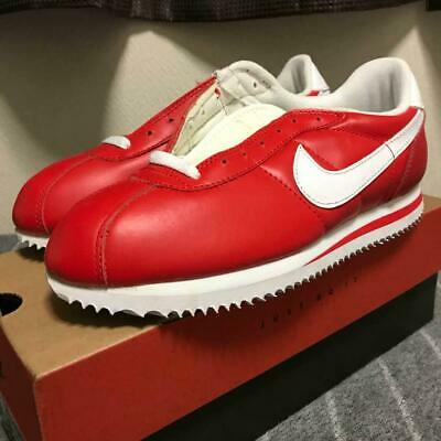 e764d9d3 NIKE LEATHER CORTEZ Red × White 1997 Deadstock Men's Sneakers size US 8.5  M08