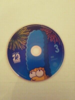 The Simpsons Season 20 Replacement Disc 3 Only