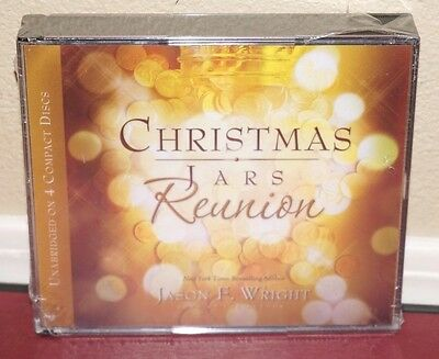 *New* Christmas Jars Reunion Audiobook CD by Jason Wright Unabridged LDS Mormon