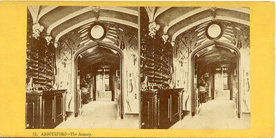 Abbotsford Armory Scotts Collection Scotland Dec 2 1871 Visit By Abbie S Weld