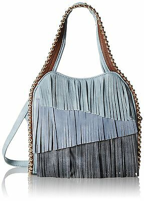 BIG BUDDHA NWT $95 JGYPSY blue large studs  blue light dark woman's purse