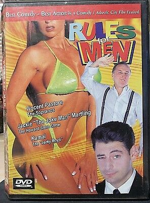 """""""Rules for Men"""" (DVD, 2001) New Jersey COMEDY *How-to Pick-up Girls* Rare & OOP"""