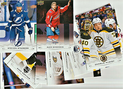2018-19 UD SERIES 2 LOT OF 18 OVERSIZE  5x7 inch CARDS SEE LIST OVECHKIN++NEW!!!