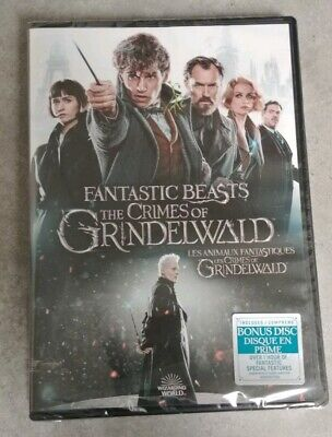 Fantastic Beasts - The Crimes Of Grindelwald (DVD) 2019