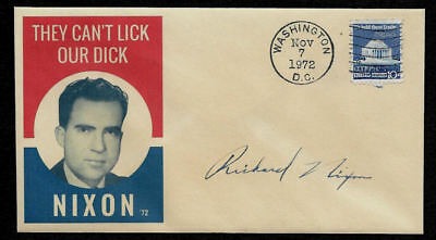 Richard Nixon 1972 Campaign Ltd Edt Collector Envelope OP1331