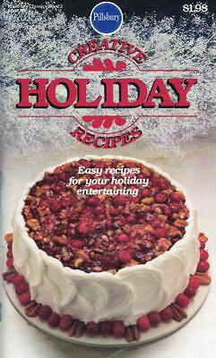 Pillsbury CREATIVE HOLIDAY Recipes Classic Cookbook No 22 1982