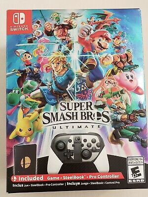 *NEW and SEALED* Smash Bros Ultimate Special Edition (w/Pro Controller)