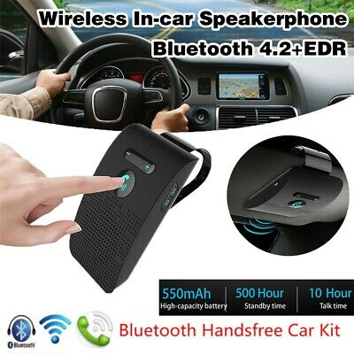 VERY LOUD! Hands free Handsfree Kit Bluetooth Speaker Wireless Car Van Lorry AU