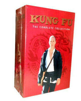 Kung Fu: The Complete Series Collection (DVD, 16 Disc Box Set) Seasons 1 2 3 NEW