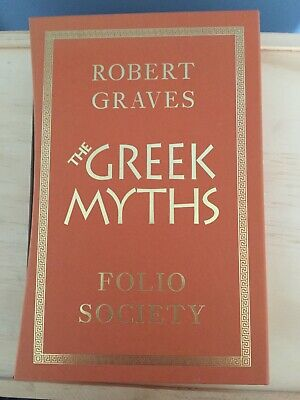Folio Society Greek Myths 1 & 2 by Robert Graves in Slipcase Excellent Condition