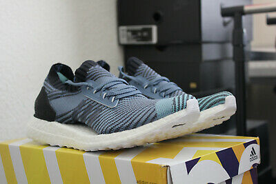 dee28b45b66f4 Adidas Ultra Boost X Parley Raw Grey Aq0421 Womens Size 7.0 Brand New!