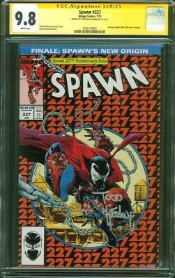 Spawn 227 CGC SS 9.8 Todd McFarlane Amazing Spider Man 300 Homage Cover 1/13