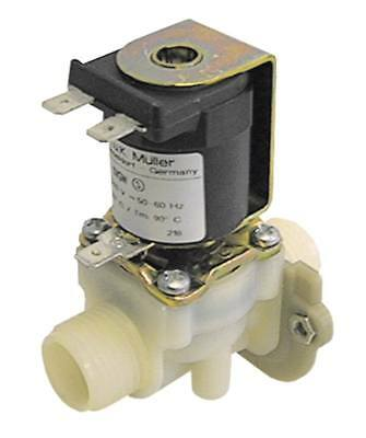 """Müller Solenoid Valve for Frying Ambach Kmg-50, Kme-50 Exit 1/2 """" 1 Compartment"""