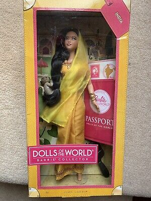 Barbie Dolls Of The World - Passport - India