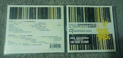 The Ultimate DJ Sample Box - Cook / Oakenfold - rare 2005 2 CD set very good