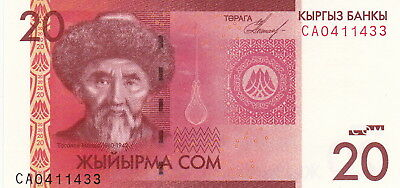 KYRYGZSTAN 20 ₴om Uncirculated note Bargain!!