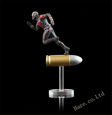 """King Arts Format Figure Series Marvel Ant Man Posed character run on bullet 2.6"""""""