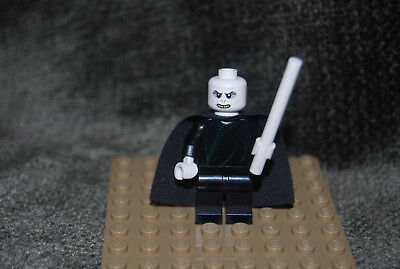 NEW GENUINE LEGO Voldemort White Head Minifigure 75965 Harry Potter Mini Figure