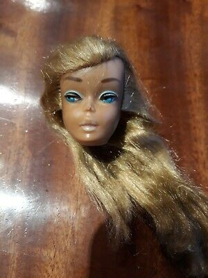 Vintage Barbie Head 1960's Mattel