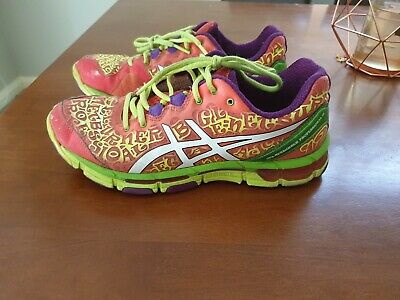 Asics Gel Netburner Professional 12 Womens Netball Shoes Trainers Ladies US 8.5