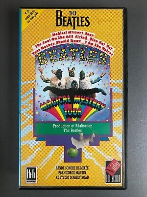 """VHS """"The Beatles : Magical Mystery Tour"""""""