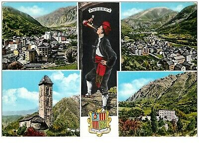 Photo Cpsm Cpm VALLS ANDORRA. Pour Altkirch 1962(846)