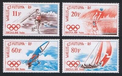 Wallis and Futuna Olympic Games Seoul 4v MNH SG#535-538 SC#372-375 MI#555-558