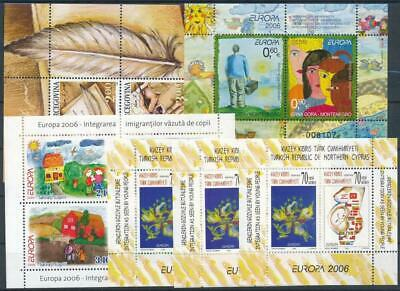 [G103590] Europa 6 good sheets very fine MNH
