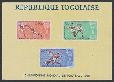 Togo World Cup Football Championship England MS D1 SG#MS492 SC#C60a
