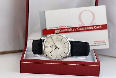 VINTAGE OMEGA WATCH circa 1963 CLASSIC OMEGA - RESTORED WITH 6 MONTHS GUARANTEE