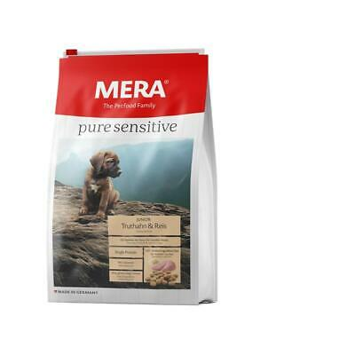 MeraDog Pure Sensitive Junior Truthahn & Reis 12,5kg *** Beste Qualität ***