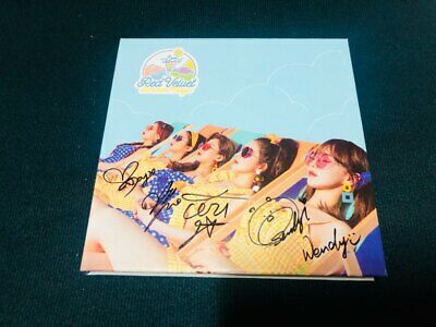 "RED VELVET ""POWER UP!""  Album Autograph ALL MEMBER Signed PROMO"