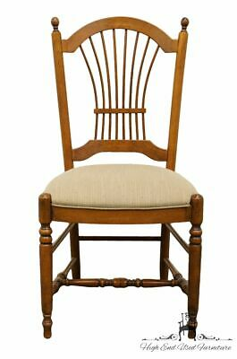 ETHAN ALLEN Country French Collection Wheat Back Dining Side Chair 26-6201