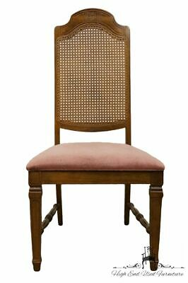 BERNHARDT FURNITURE Italian Neoclassical Cane Back Dining Side Chair 116-521