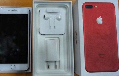 APPLE - iPhone 7 Plus 256GB (PRODUCT)RED Special Edition - RED con box e accesso