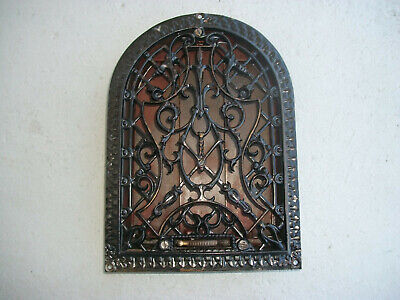 Beautiful Victorian Cast Iron Dome Wall Heat Register Vent Grate