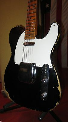 2015 Fender Custom Shop 1952 Telecaster Relic w/ Original Case Fat Neck Nice!