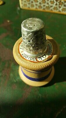 Antique solid silver thimble ...99p start got lots am going to put them all on