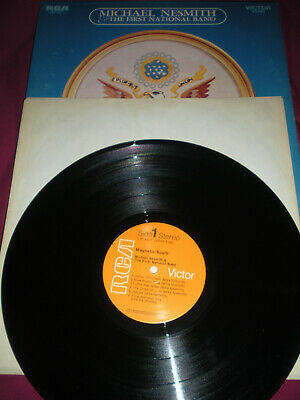 Michael Nesmith First National Band Magnetic South Monkees 1970 Record Lp 4371