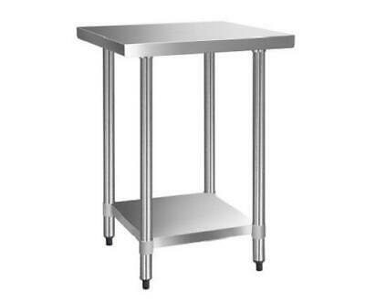 Commercial 430 Stainless Steel Restaurant Kitchen Food Prep Work Bench Table