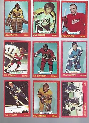 1973-74 O-Pee-Chee OPC Finish Your Set - VG to EX and better LOW SHIPPING