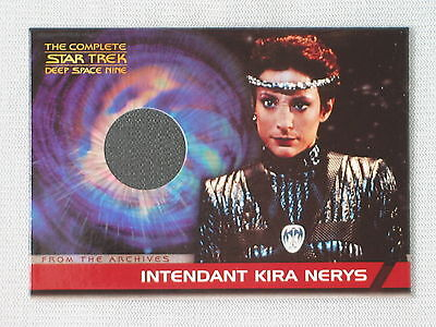 Complete Star Trek Ds9 Nana Visitor As Kira Nerys Costume Trading Card Cc4