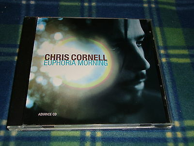 Soundgarden Chris Cornell Euphoria Morning promo cd