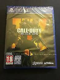 Call of Duty Black Ops 4 IIII IV (Sony PlayStation 4 PS4) Brand New Sealed