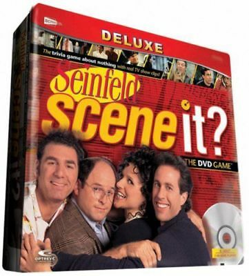 Seinfeld Scene It? DVD Game Factory Sealed Collector's Tin