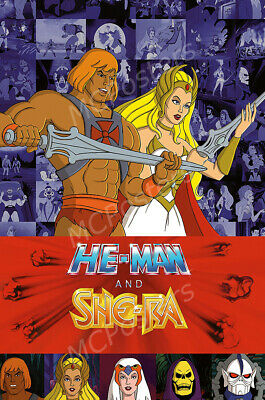 Posters USA - He-Man and She-Ra TV Show Poster Glossy Finish - MCP741